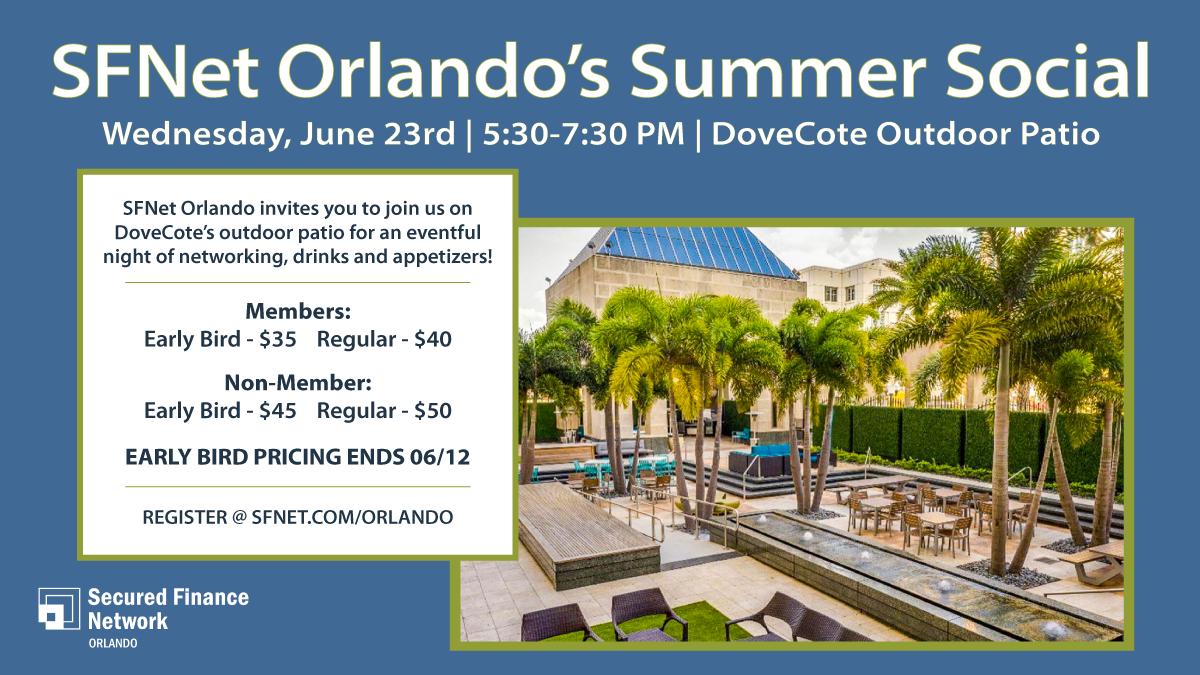 SFNet Orlando's Summer Social